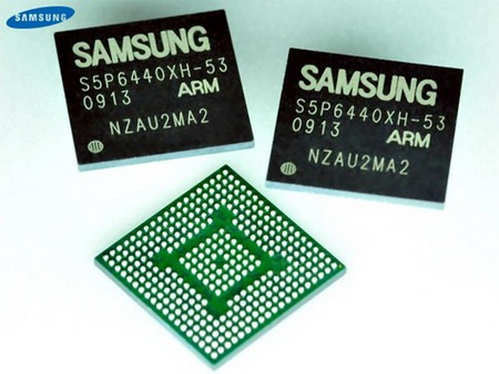 Samsung ARM CORTEX A8 processors