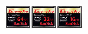 SanDisk Extreme Pro Compact Flash Card