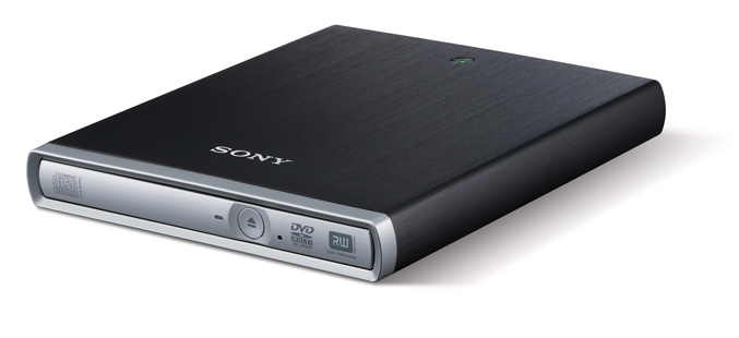 Sony DRX-U70-W external DVD/CD recordable drive