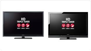 Sony HD triple-tuner BRAVIA TVs