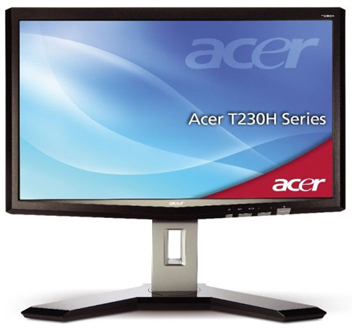 Acer T230H multi-touch LCD Monitor