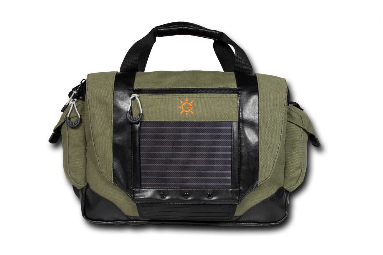 Camera bag powered by G24i DSSC Technology