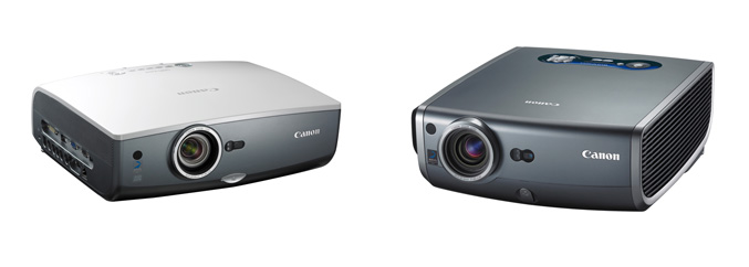 Canon REALiS- WUX10 and SX 80 projector