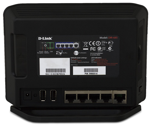 D-Link Xtreme N DIR-6850 All-in-One 802.11n router