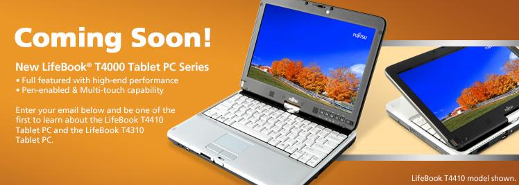 Fujitsu LifeBook T4410 & LifeBook T4310