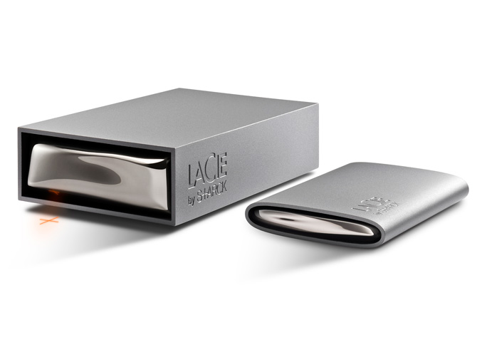 LaCie Starck external hard drives
