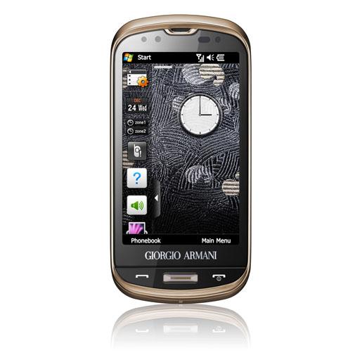 Giorgio Armani Samsung Smartphone
