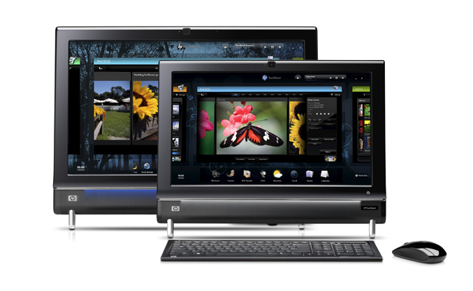 HP TouchSmart 300 and HP TouchSmart 600 All-0n-One PCs