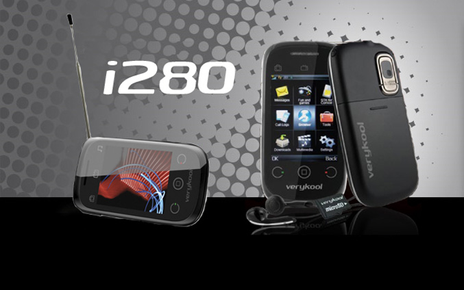 InfoSonic verykool i280 TV phone