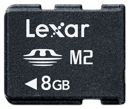 Lexar 8GB MemoryStick Micro (M2)