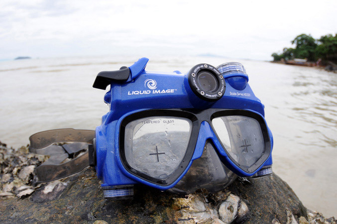 Liquid Image Scuba Series HD320 Camera/Video Mask