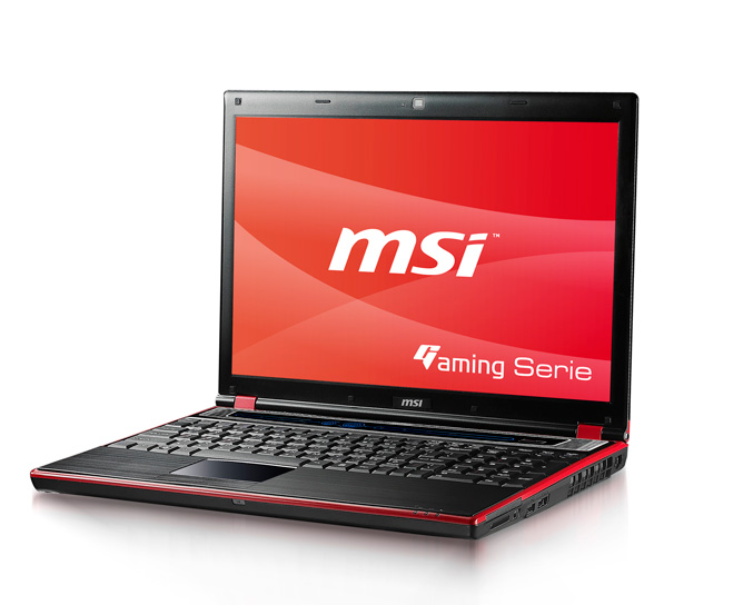 MSI GT640 gaming notebook
