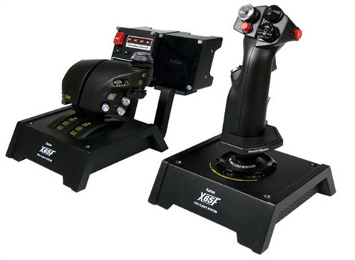 Mad Catz Pro Flight-X65F Control System