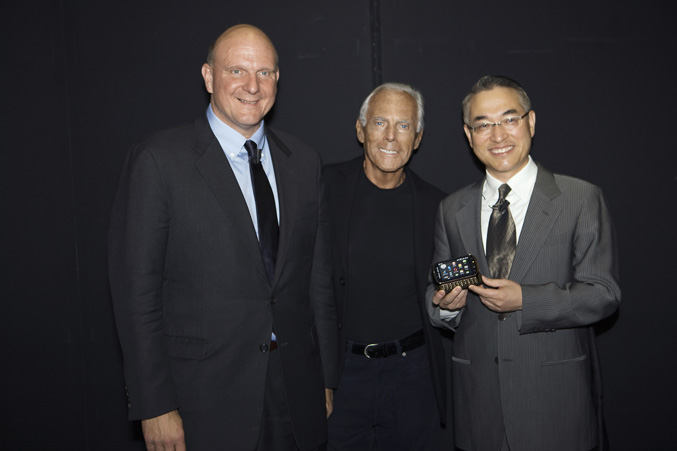 Mr Ballmer, Mr_Armani and Dr WP Hong
