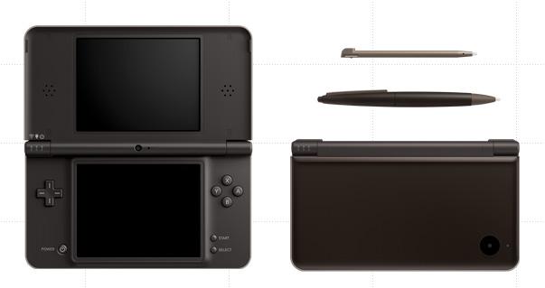 Nintendo DSi LL Dark Brown