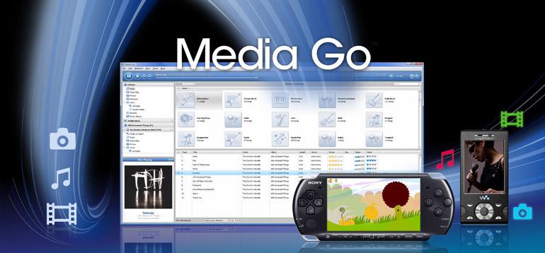 PSP Media GO