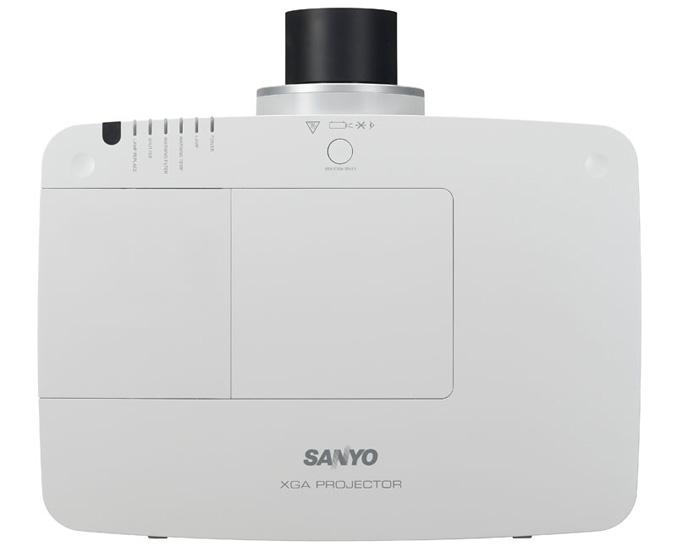 SANYO's-PLC-XM150-150L-100-100L-Projector-top