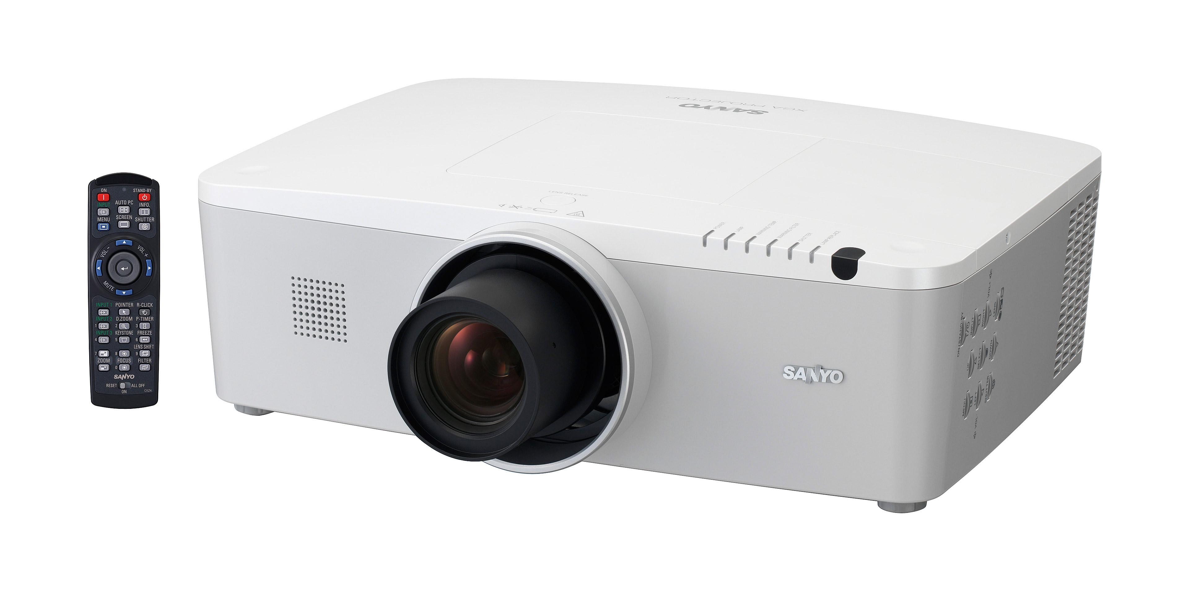 SANYO's PLC-XM150-150L-100-100L Projector
