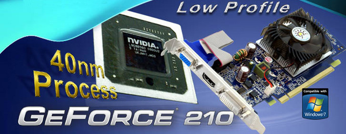 SPARKLE GeForce 210 Graphics Card