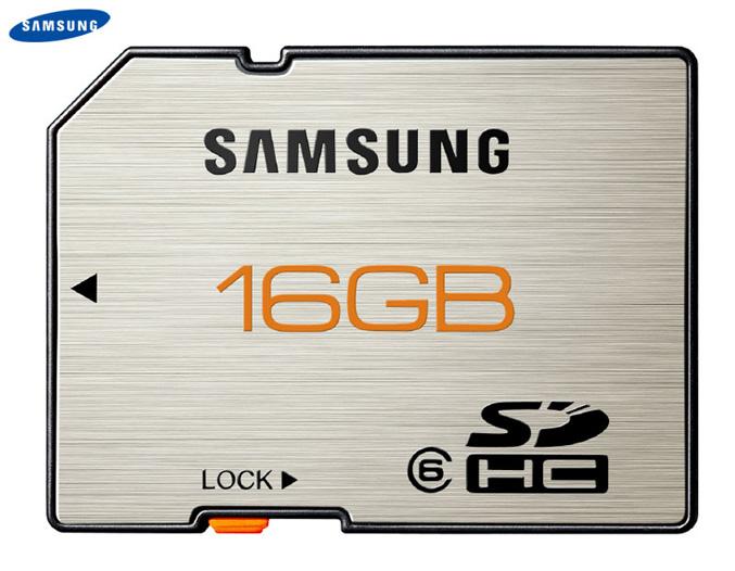 Samsung SDHC 16GB