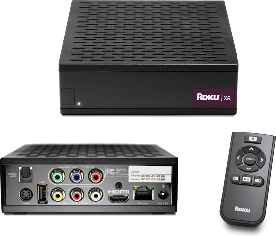 The Roku HD-XR Player