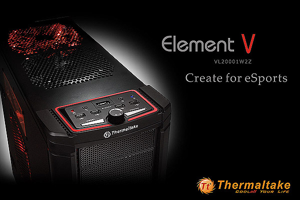 Thermaltake Element V Element V full-tower chassis
