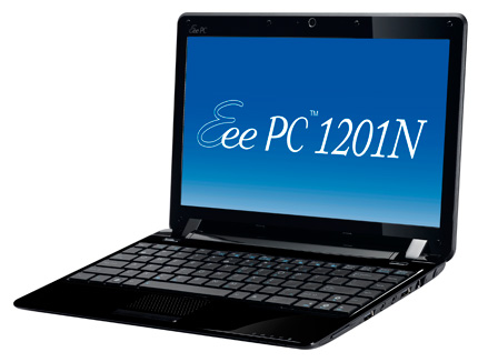 Asus Eee PC 1201N Multimedia Netbook