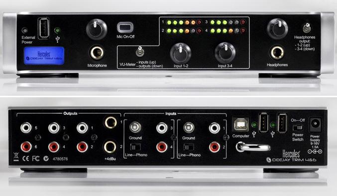 Hercules DeeJay Trim 4&6 USB Audio Interface