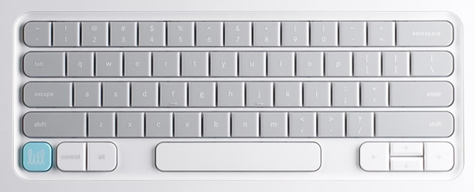 Litl Webbook keyboard
