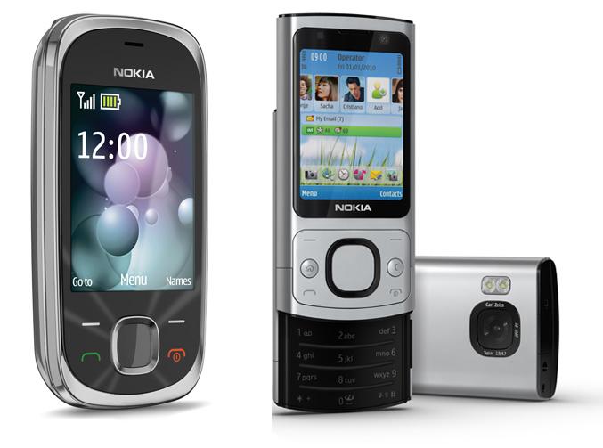 Nokia 7230 and Nokia 6700