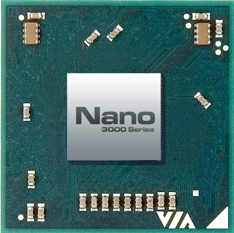 Via Introduces New Via Nano 3000 Series Processors