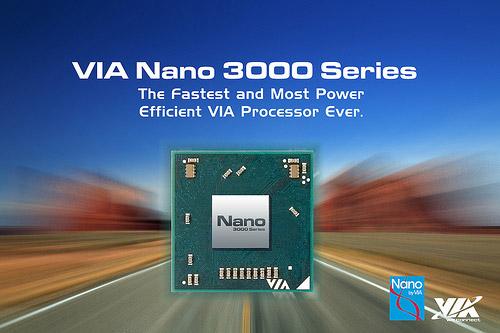 VIA Nano 3000 Series