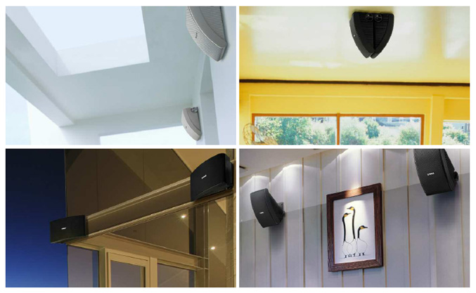 Yamaha indoor/outdoor speaker systems
