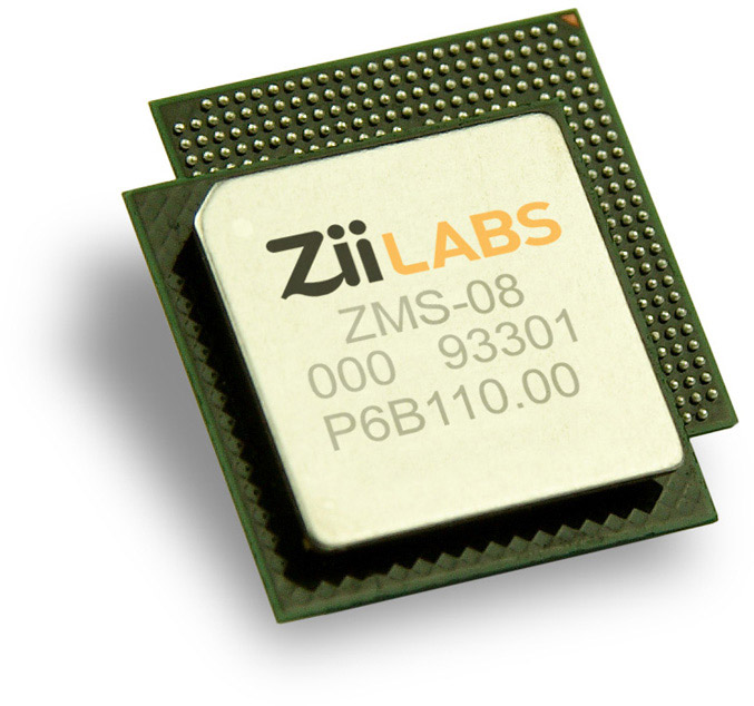 ZiiLABS ZMS-08 processor