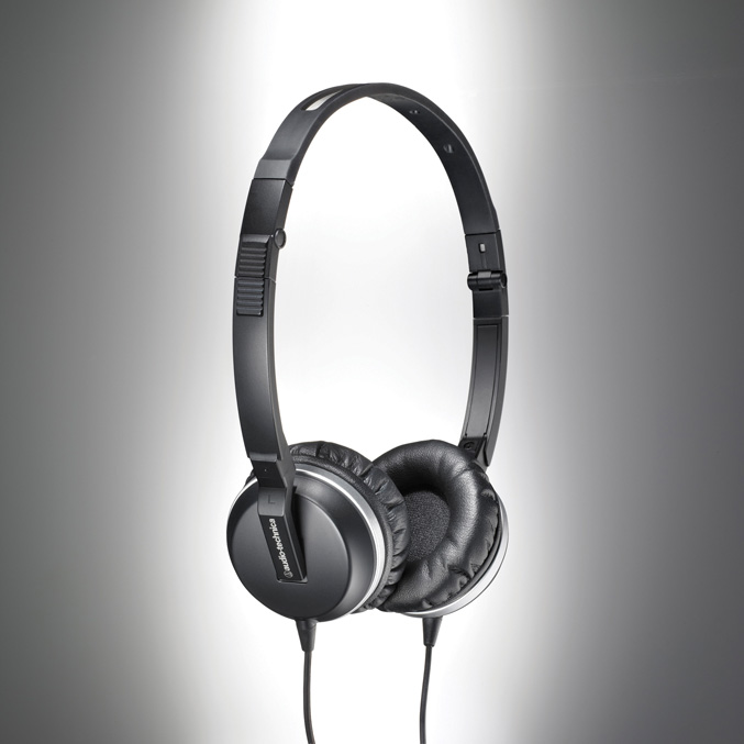 Audio-Technica ATH-ANC1 active noise-cancelling on-ear headphones
