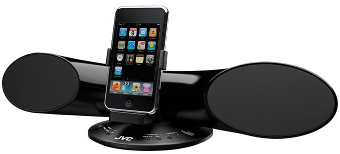 JVC XS-SR3 iPod dock speaker system