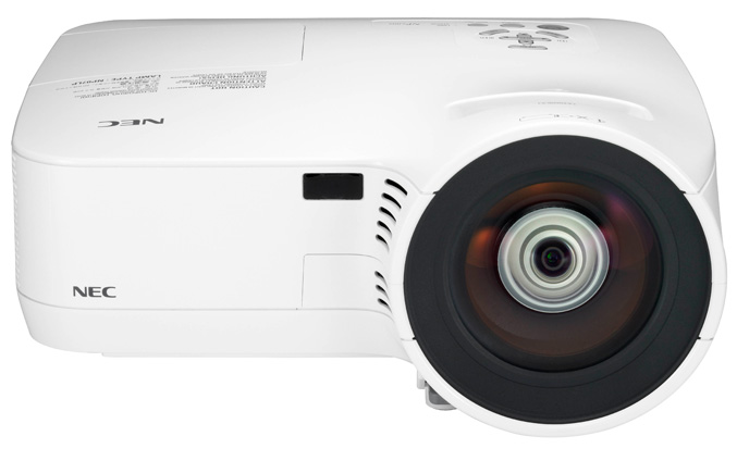 NEC NP610S projector