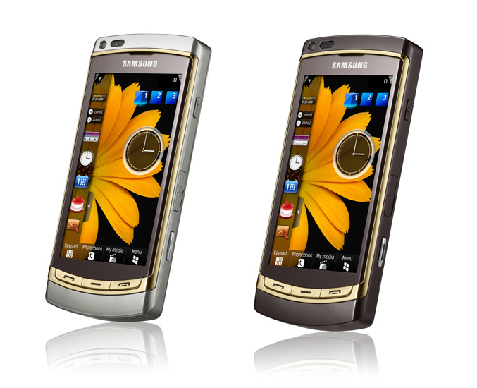 Samsung Omnia HD(GT-I8910) Gold Edition