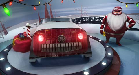 Sleigh-for-Santa-Claus-
