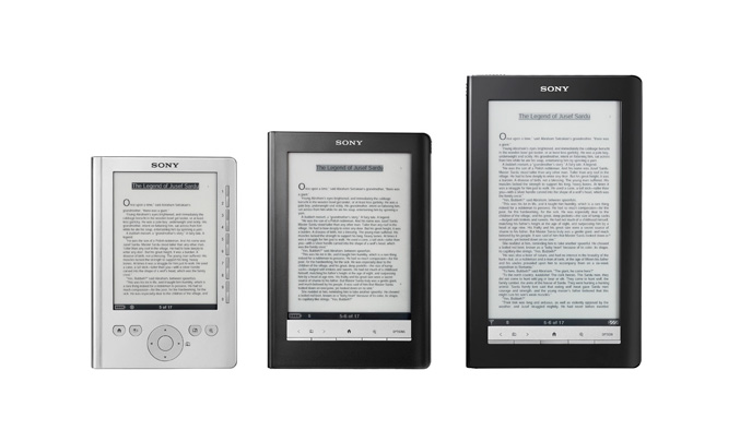 Sony Reader Comparison