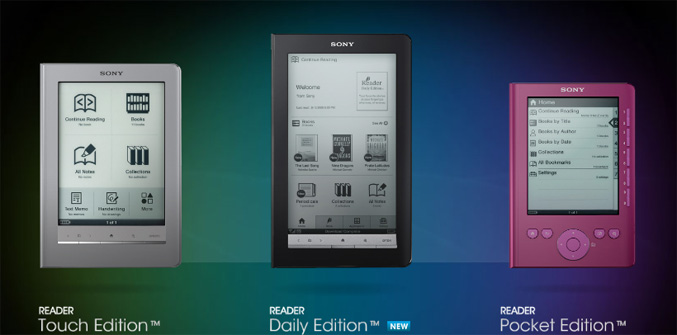 Sony-Readers