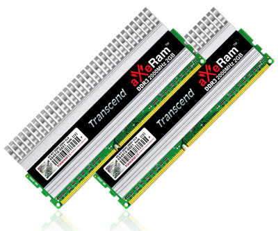 Transcend aXeRam DDR3 2000MHz Memory Kit