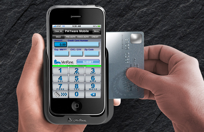 VeriFone's PAYware Mobile for iPhone