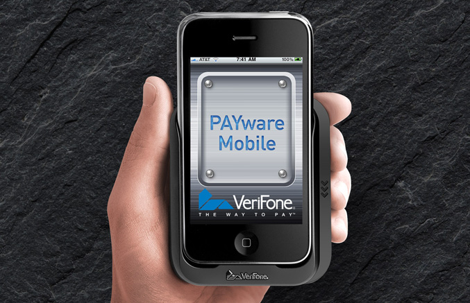 VeriFone's free hardware and software credit card processing solution