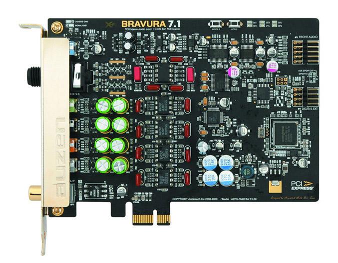 Auzentech X-Fi Bravura Sound Card