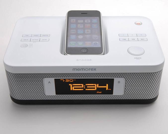 Memorex Dual Alarm Clock (Mi4703SP)