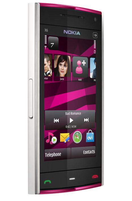 Nokia X6 16GB - pink