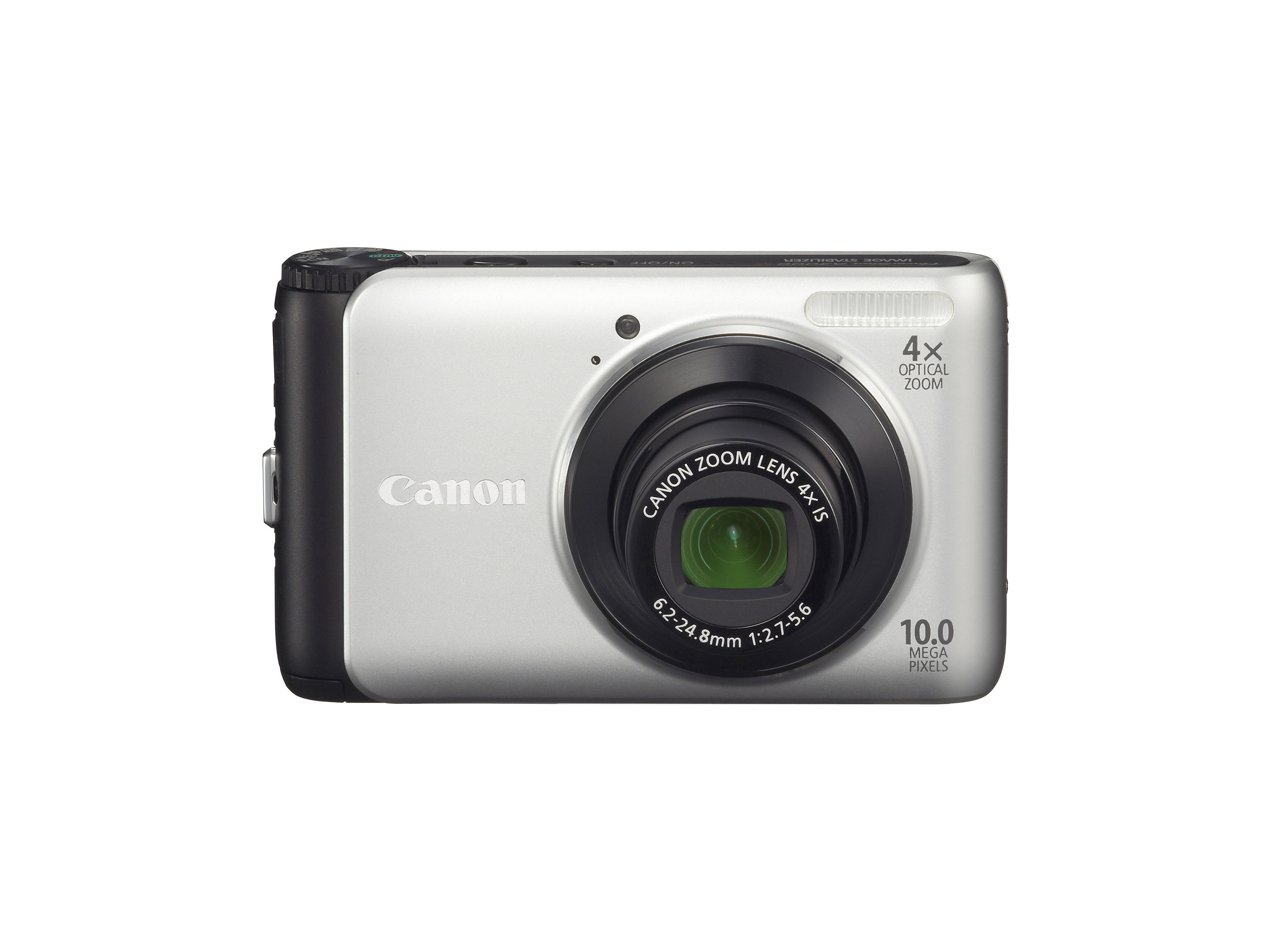 PowerShot A3000 IS – Front silver black