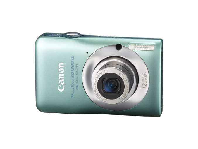 Canon PowerShot SD1300 IS - Green