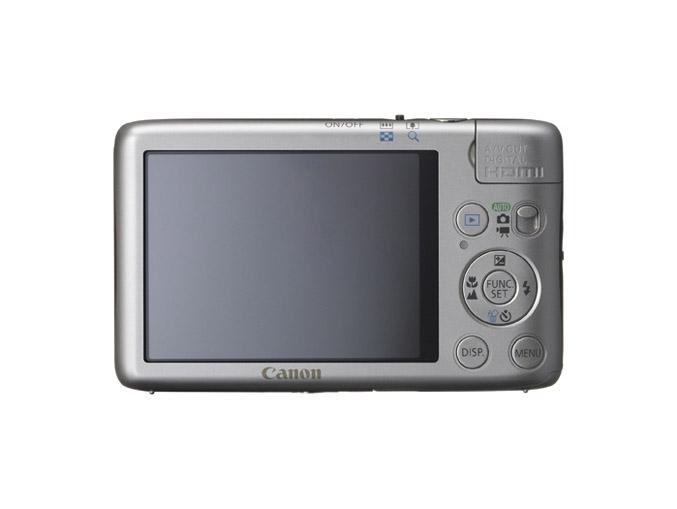 Canon PowerShot SD1400 IS - Back